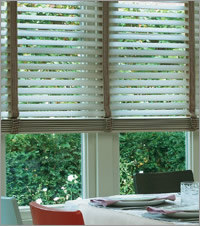 Light Wood Blinds