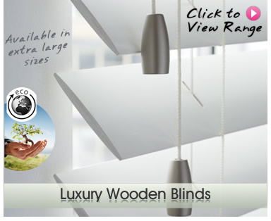 High Quality Luxury Wooden Blinds